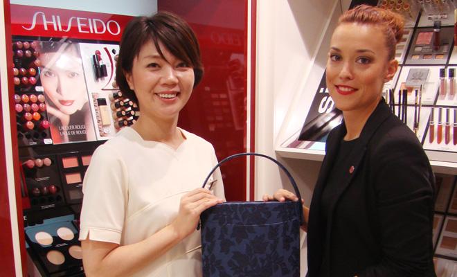 Regalo de neceser japonés de Shiseido