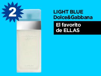 Descubre el perfume lightblue de Dolce & Gabanna