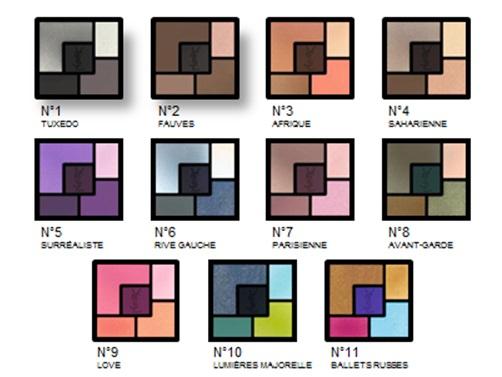 YSL New Colors