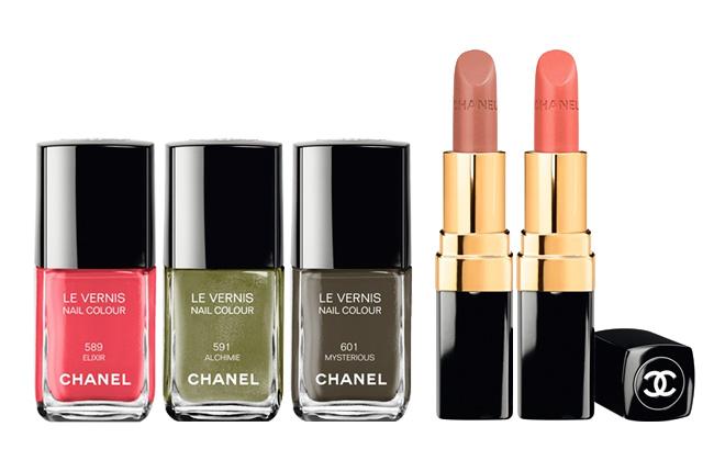 Moda Otoño 2013 Maquillaje Chanel