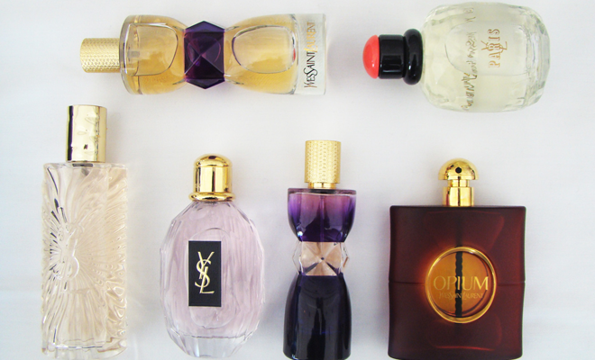 Perfumes Yves Saint Laurent
