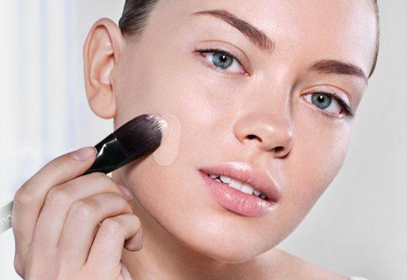 maquillaje aplicar