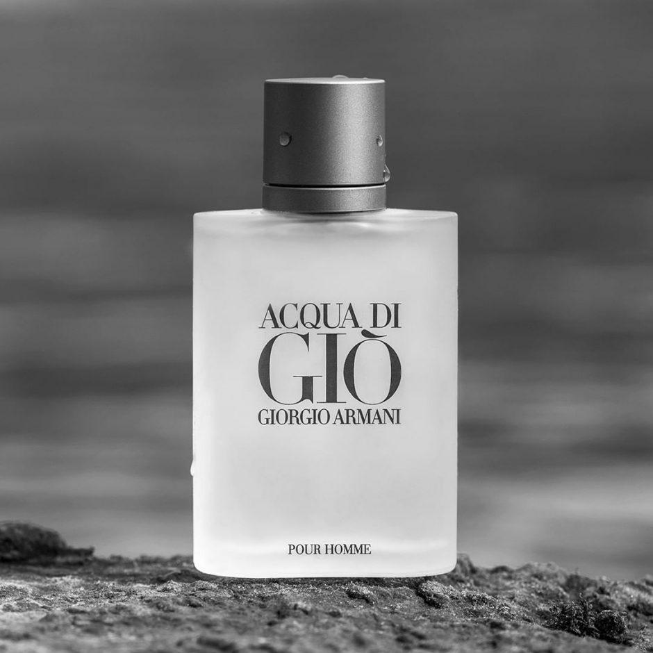frasco perfume aqua di gio
