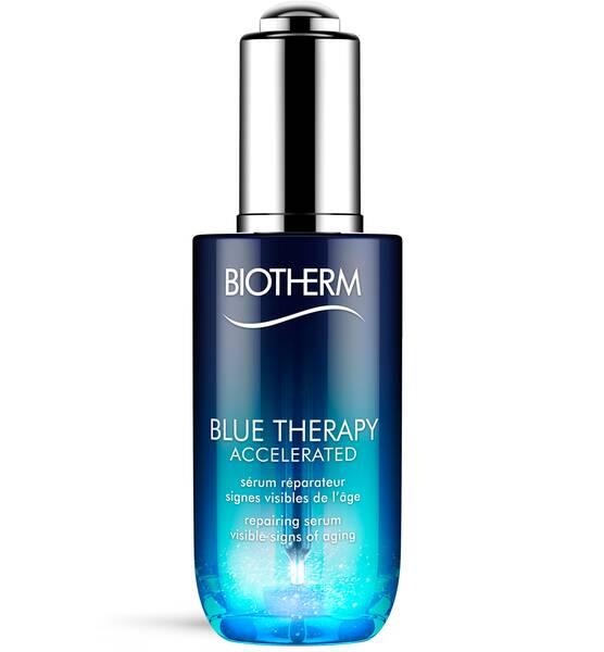 Blue Therapy Accelerated Sérum de Biotherm. Sérum reparador global.