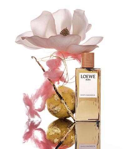 Aura White Magnolia, el nuevo perfume de Loewe