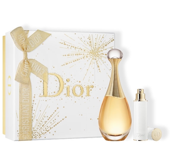 J'adore de Dior. Estuche de Navidad 2019. Incluye EDP 100ML y vaporizador para viaje de 10ml.