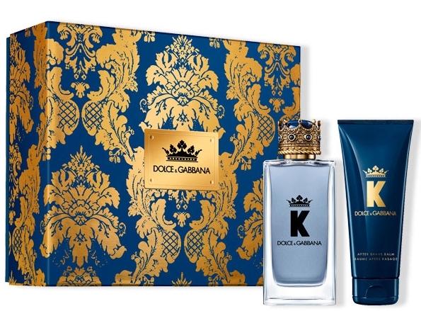 K de Dolce & Gabbana Estuche 2019. Incluye Eau de Toilette de 100ml y un After Shave de 75ml.