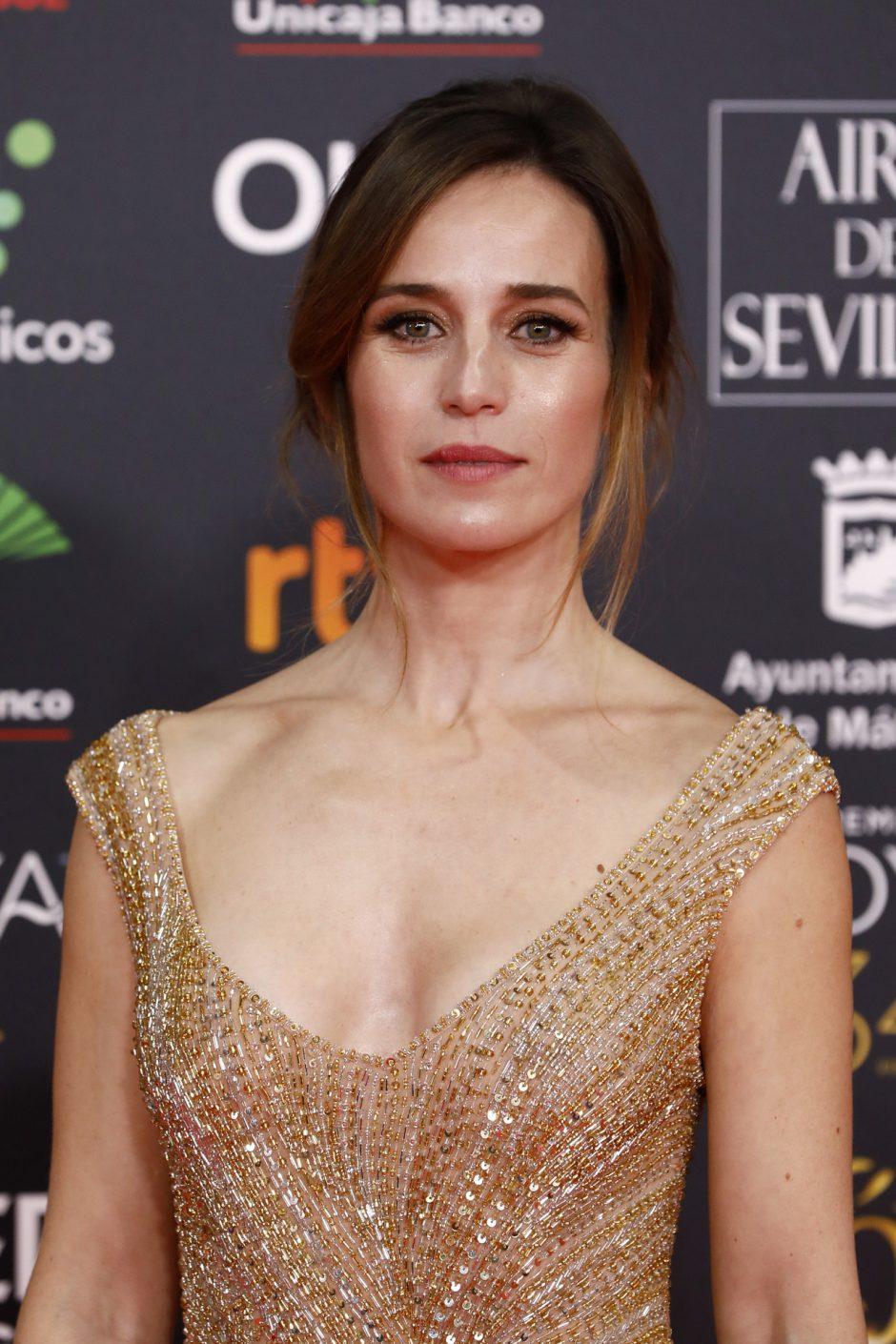Marta Etura en la Gala de los Goya 2020