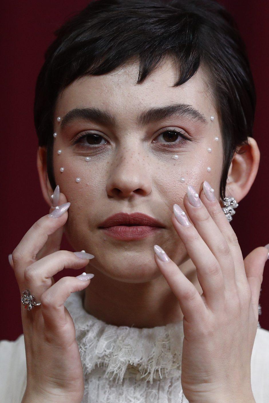 Greta Fernández en los Goya 2020