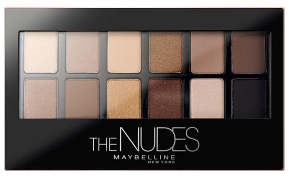 The Nudes Palette de Maybelline