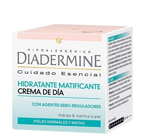 Hidrante matificante de Diadermine