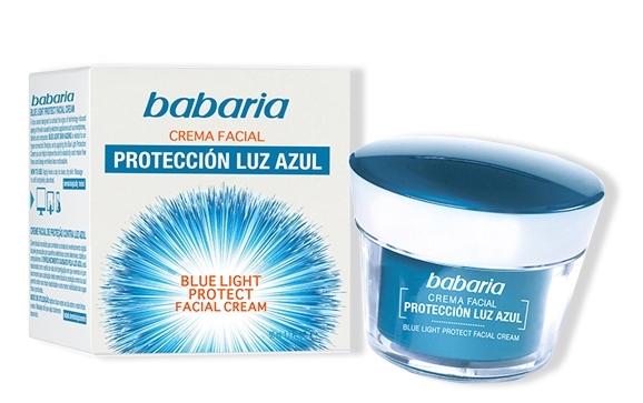 Crema Facial Protección Luz Azul de Babaria
